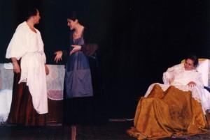 Il giardino veneziano - Atto unico con tre personaggi femminili.