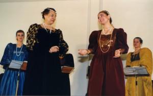 Adattamento teatrale de Il merito delle donne di Moderata Fonte
