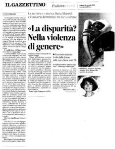 Donne Perdute articolo Maria Pia Cordato